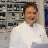 Dr. rer. nat. Ulrike Scholz, Zentralapotheke