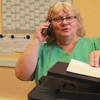 Silvia Streit, Examinierte Krankenschwester, Röntgenassistentin