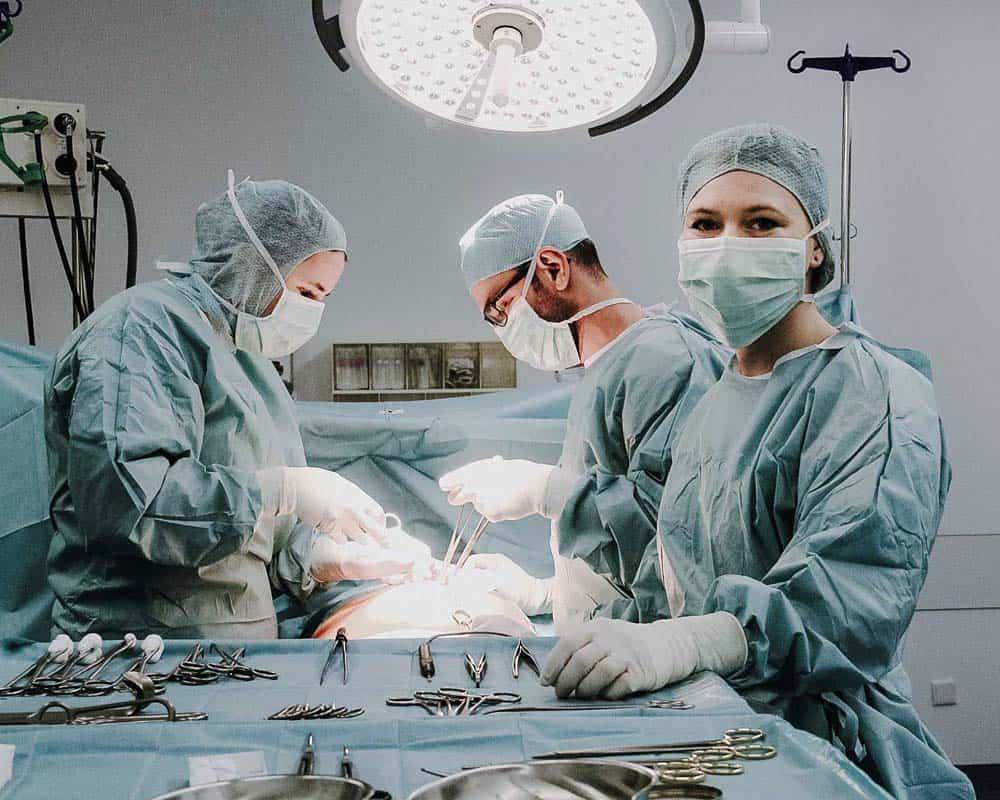 Allgemein- & Viszeralchirurgie - OP