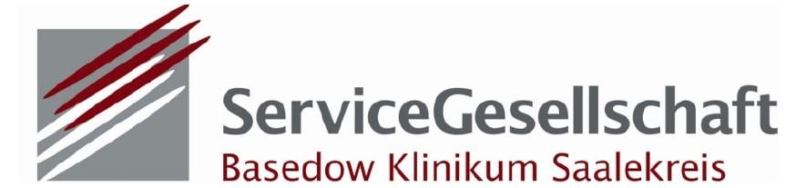 Logo Servicegesellschaft Basedow Klinikum