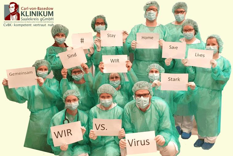CvBK Team Wir vs. Virus