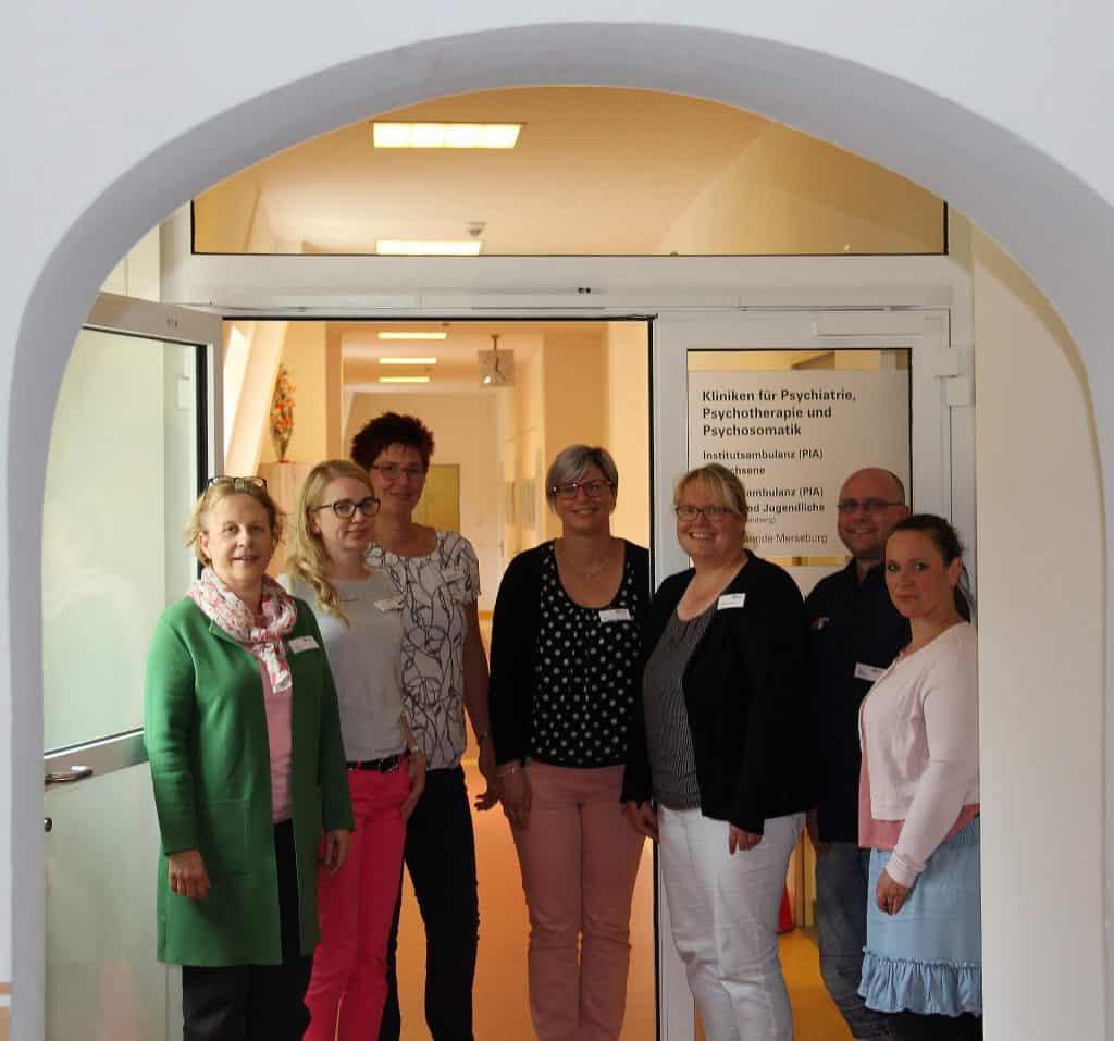 Teamfoto psychiatrische Institutsambulanzen (PIA)