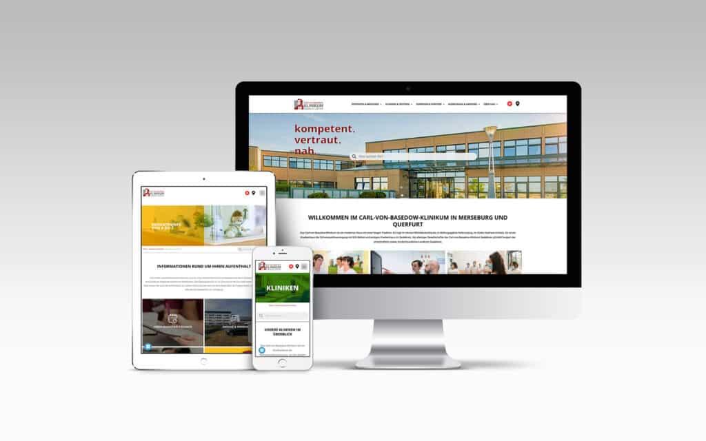 Website Basedow Klinikum
