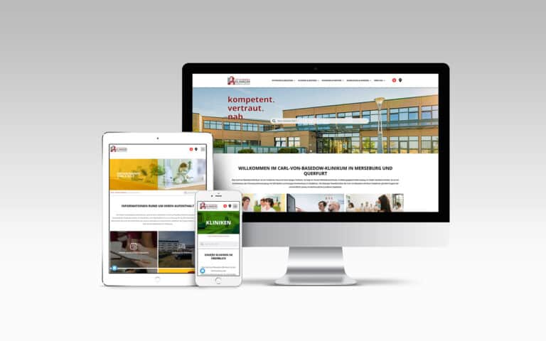 Website Basedow Klinikum